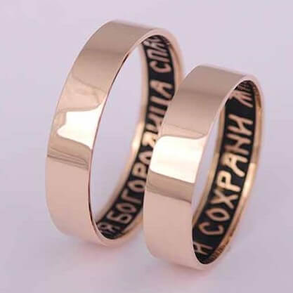 обручальные кольца белое золото фото и цены