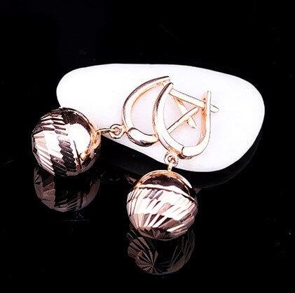 сережки для детей золото фото