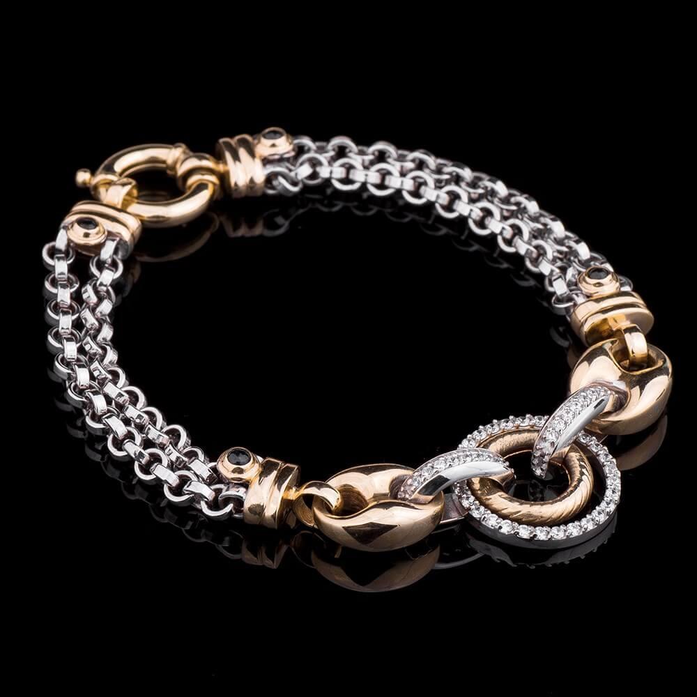 Женские браслеты из золота. Купить золотой женский браслет ...