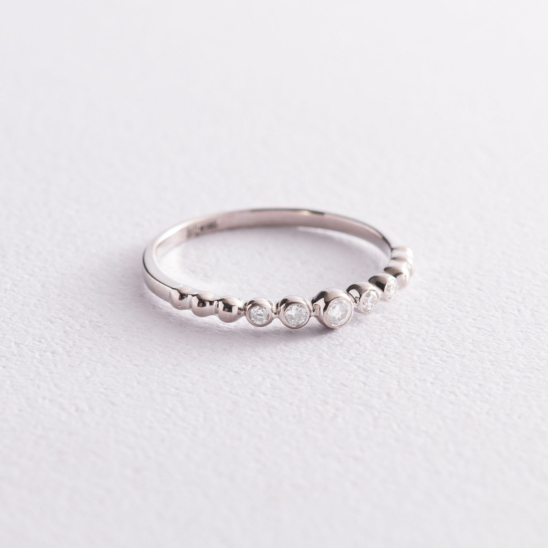 Золотое кольцо с бриллиантами 101-10019