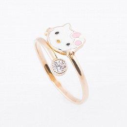 Детские золотые кольца. Купить золотые кольца для детей - ювелирный магазин  Оникс 84aa6b255b2