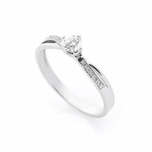 c43c811f2f58 Золотое помолвочное кольцо (бриллианты) - купить Золотое помолвочное ...